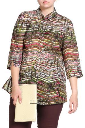 Блуза Basler. Цвет: зеленый