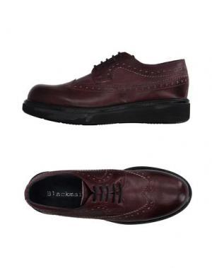 Обувь на шнурках BLACKMAIL. Цвет: баклажанный