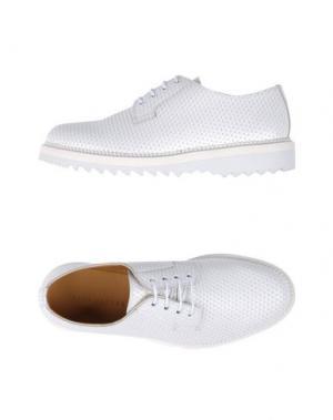 Обувь на шнурках MARC JACOBS. Цвет: белый