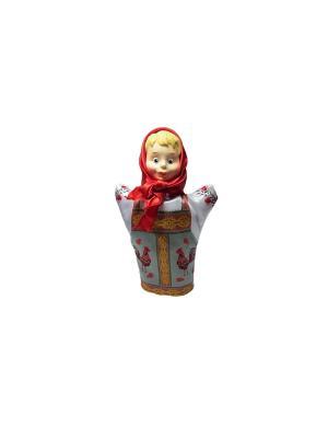 Бибабо Внучка Волшебный мир. Цвет: бежевый, белый, зеленый, красный