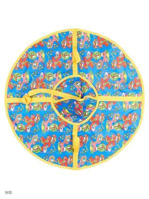 Санки надувные Ватрушка Метиз. Цвет: лазурный
