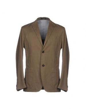 Пиджак HENRY COTTON'S. Цвет: хаки