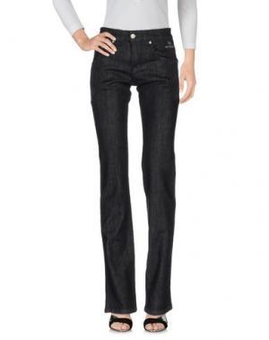 Джинсовые брюки NICWAVE. Цвет: черный