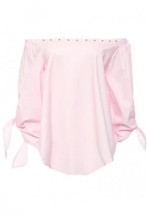 Блуза Brigitte Bardot. Цвет: розовый