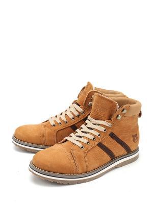 Ботинки Tofa. Цвет: оранжевый