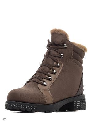 Ботинки Gene. Цвет: коричневый