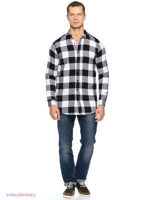 Рубашка Cropp. Цвет: черный