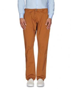 Повседневные брюки REIGN. Цвет: коричневый