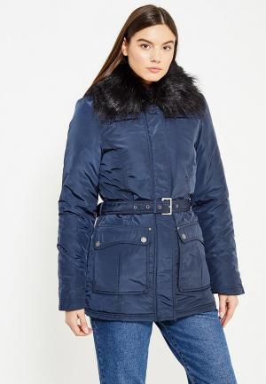 Куртка утепленная Usha. Цвет: синий