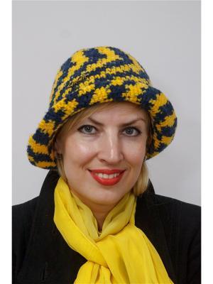 Шляпа Джайф ТТ. Цвет: синий, желтый