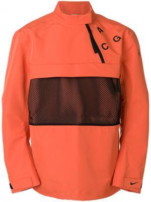 Куртка Lab ACG Nike. Цвет: жёлтый и оранжевый