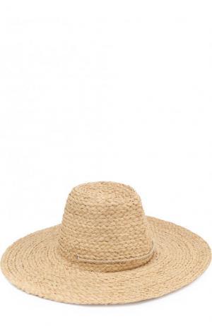 Соломенная шляпа Artesano. Цвет: бежевый