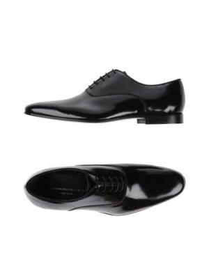 Обувь на шнурках ALESSANDRO DELL'ACQUA. Цвет: черный