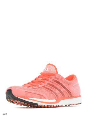 Кроссовки взр. adizero takumi sen  RAYPNK/CBLACK/SOLRED Adidas. Цвет: бледно-розовый