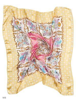 Платки Vittorio Richi. Цвет: желтый, розовый