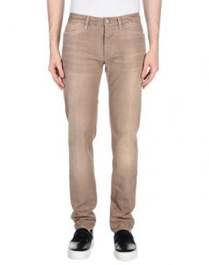 Джинсовые брюки D-21. Цвет: хаки