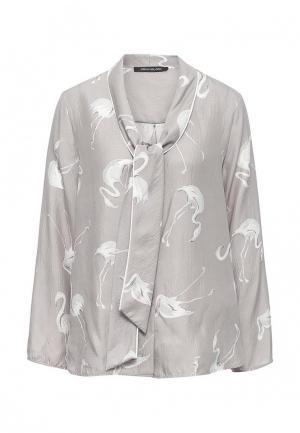 Блуза Pennyblack. Цвет: серый