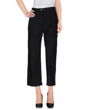 Повседневные брюки OTTOD'AME. Цвет: черный