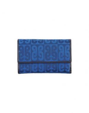 Бумажник PIERO GUIDI. Цвет: синий