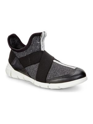 Ботинки ECCO. Цвет: черный, белый