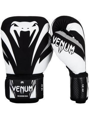 Перчатки Impact Black/White Venum. Цвет: черный, белый