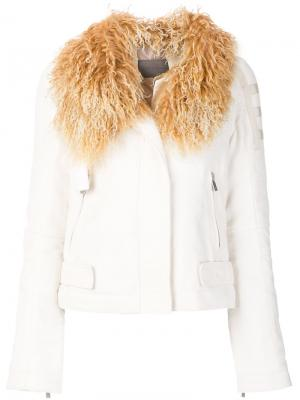 Куртка Karl Zoe Jordan. Цвет: белый