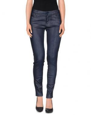 Повседневные брюки REIKO. Цвет: темно-синий