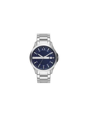 Часы Armani Exchange. Цвет: серебристый, темно-синий