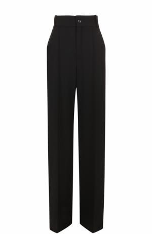 Расклешенные брюки с завышенной талией Chloé. Цвет: черный