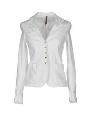 Пиджак MANILA GRACE. Цвет: белый
