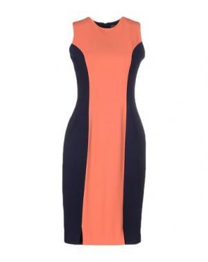 Короткое платье BOURNE. Цвет: лососево-розовый