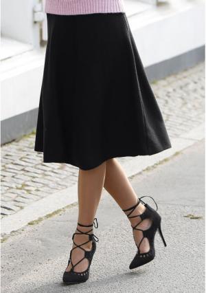 Юбка MY STYLE. Цвет: черный