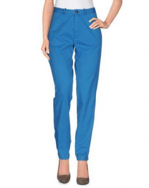 Повседневные брюки BELLEROSE. Цвет: лазурный