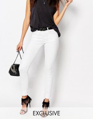 Northmore Denim Узкие джинсы. Цвет: белый
