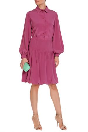 Платье Виктория, пояс-кушак NATALIA PICARIELLO. Цвет: брусничный
