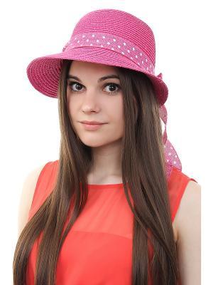 Шляпа Gusachi. Цвет: фиолетовый, белый