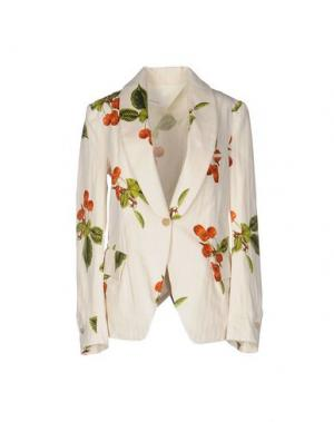 Пиджак NOSTRASANTISSIMA. Цвет: слоновая кость
