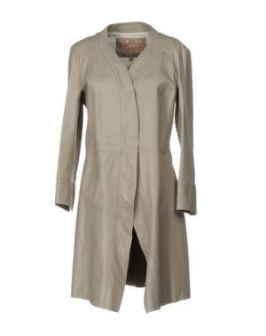 Легкое пальто SPACE. Цвет: серый