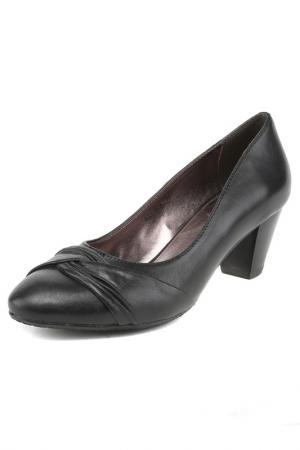 Туфли NO ONE. Цвет: черный