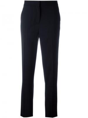 Классические брюки кроя слим Each X Other. Цвет: чёрный