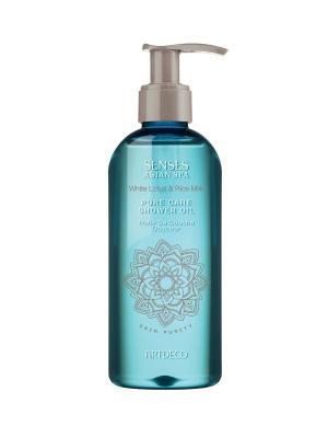 Молочко (масло) для душа Pure care shower oil, Skin purity, 200 мл ARTDECO. Цвет: белый