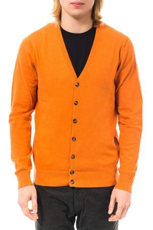 Кардиган Gas. Цвет: оранжевый