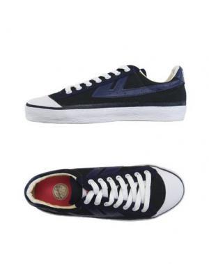Низкие кеды и кроссовки WARRIOR. Цвет: темно-синий