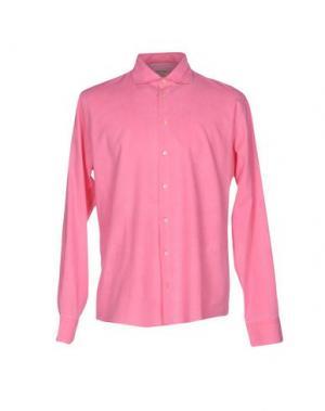 Pубашка GRAN SASSO. Цвет: лососево-розовый