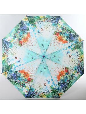 Зонт Airton. Цвет: оливковый, голубой, светло-оранжевый