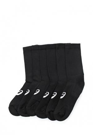 Комплект носков 6 пар ASICS. Цвет: черный