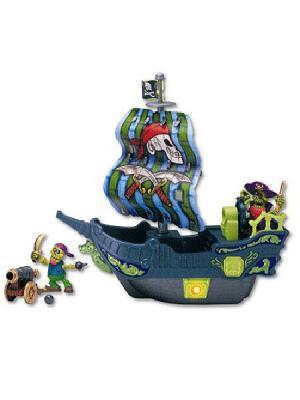 Игровой набор Приключения пиратов. Битва за остров Keenway. Цвет: синий, салатовый