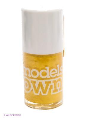 Лак для ногтей, Shimmer Sunkissed Models Own. Цвет: желтый