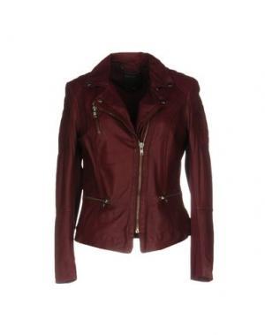 Куртка MUUBAA. Цвет: красно-коричневый