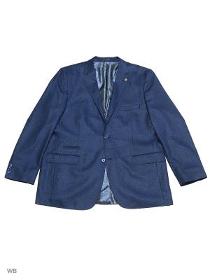 Пиджак OLSER. Цвет: синий